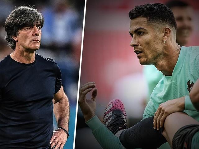 """Löw warnt vor Ronaldo: """"Er kann mehr als Cola-Flaschen verschieben"""""""