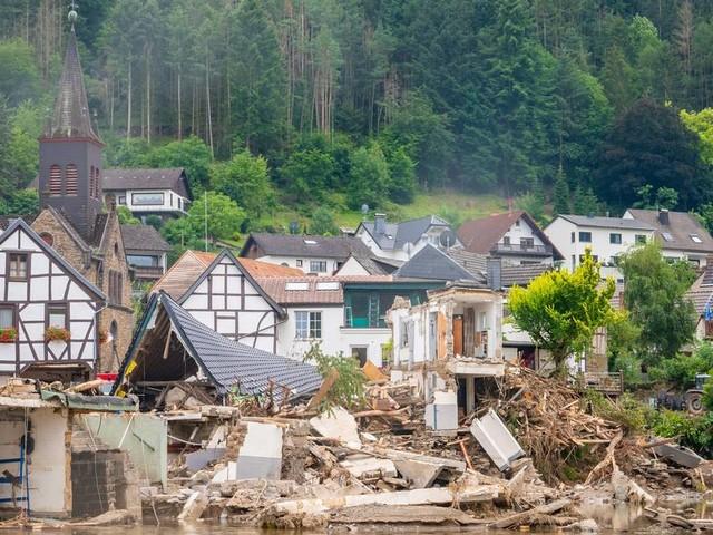 Unwetter-Katastrophe im Ahrtal: Ortsteile von Rech waren vier Tage lang getrennt