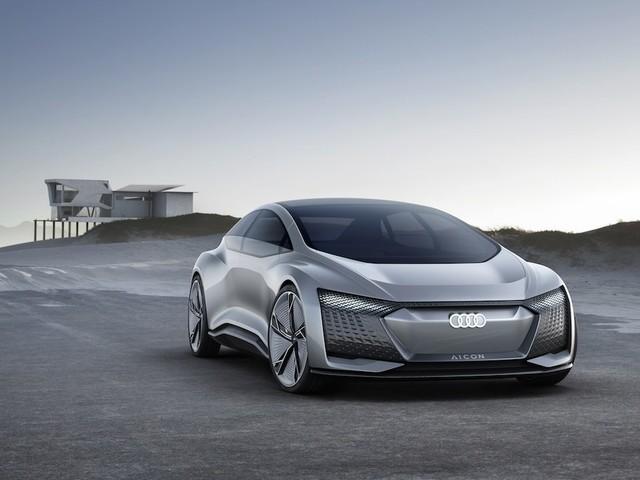 Audi Aicon und Elaine: Elektrisch und autonom in die Zukunft
