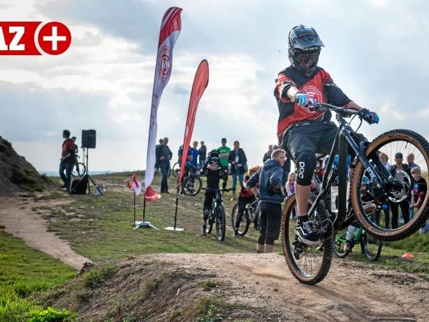 Mountainbike: Halde Norddeutschland: Neue Mountainbike-Strecke eröffnet