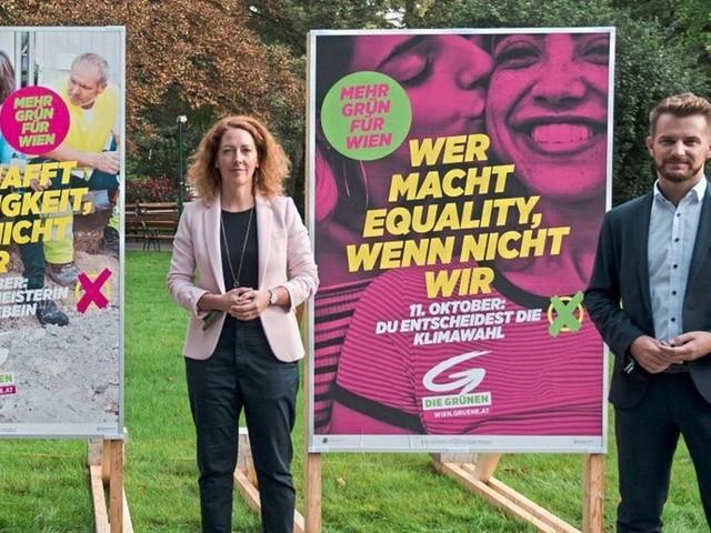 Wiener Grüne machen Weg für eine Doppelspitze frei