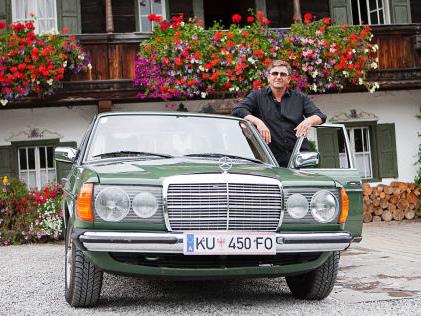 Bergdoktor: Neue Folgen mit Mercedes W 123 Der unsterbliche Benz des Bergdoktors