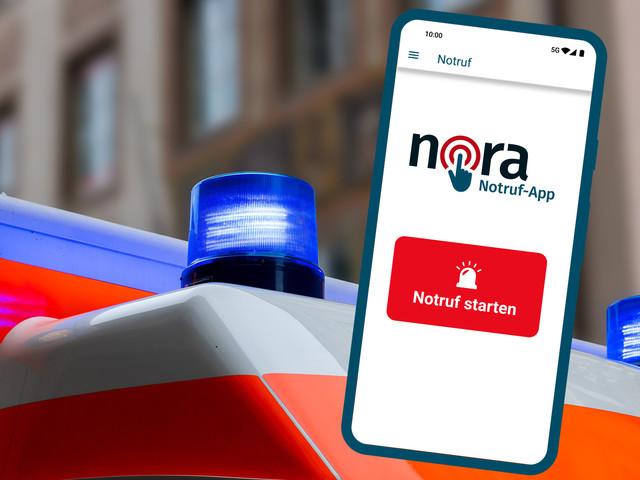 Nora: Was kann die offizielle Notruf-App?