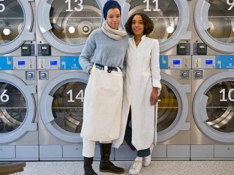 Zwei Schwestern aus Bayern haben den coolsten Self-Service-Laundry New Yorks eröffnet