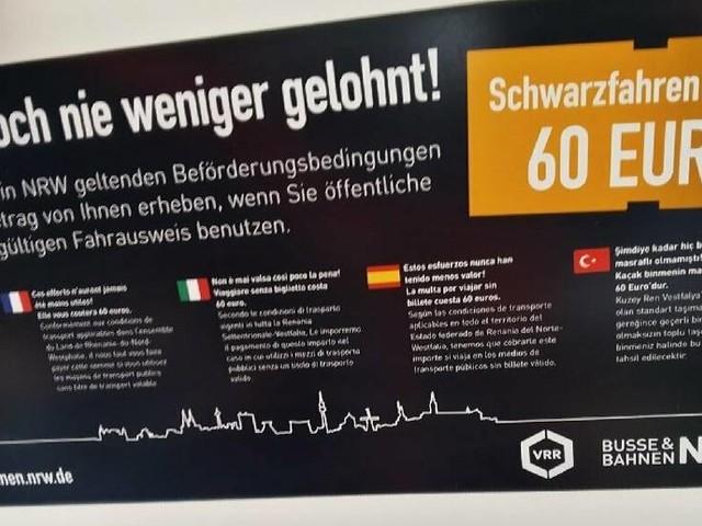 """Reaktion auf Rassismus-Debatte: Stadtwerke Neuss streichen """"Schwarzfahren"""""""