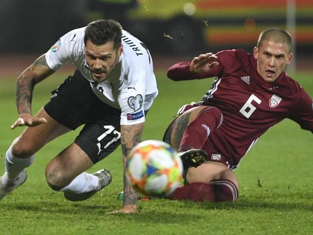 Umfaller in Lettland: ÖFB-Team torkelte über den Laufsteg