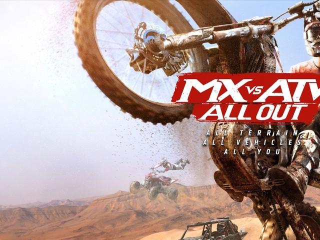 MX vs. ATV All Out: Offroad-Rennspiel mit Bikes, ATVs und UTVs für PC, PS4 und Xbox One angekündigt