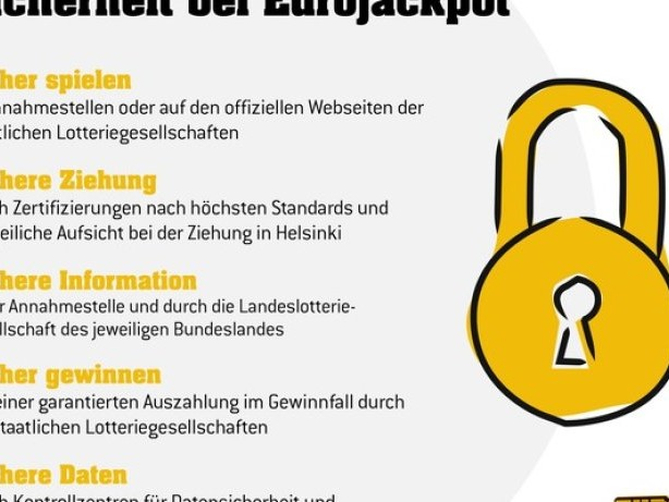 Anzeige – Hohe Sicherheitsstandards / Eurojackpot schützt seine Spieler bei jedem Schritt