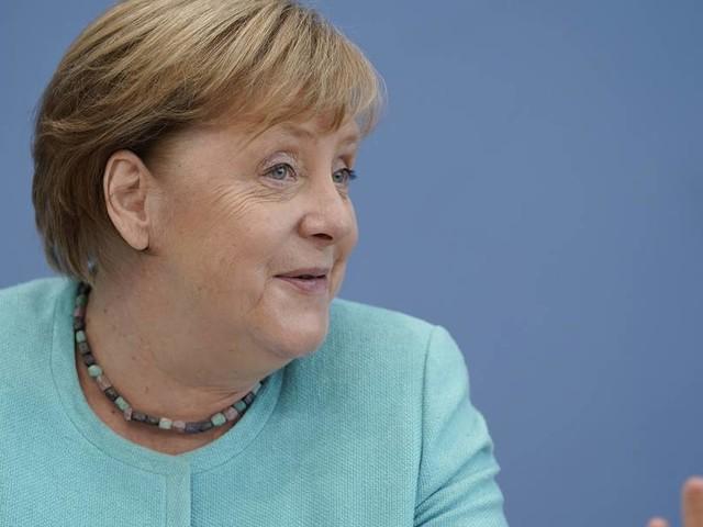 """Merkels letzte Sommer-Pressekonferenz: """"Wir brauchen einander"""""""