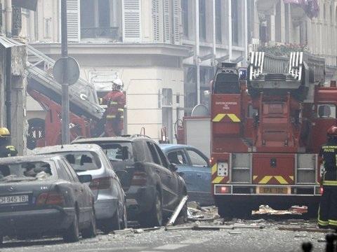 Gasleck in Bäckerei?: Mehrere Verletzte bei Explosion in Pariser Innenstadt