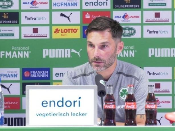 """Fürth-Trainer Leitl: """"Mit viel Mut"""" die Bayern ärgern"""