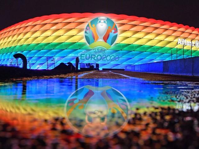 EM 2021: Ein Regenbogen fordert die Uefa heraus – Neuer auch gegen Ungarn mit der umstrittenen Binde