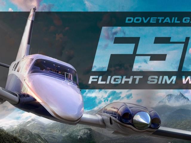 Flight Sim World: Flugsimulation verlässt Early Access; dynamisches Wetter steht an