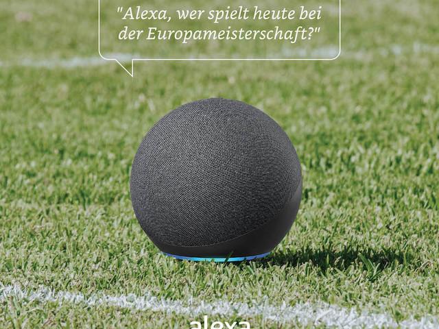 Europameisterschaft: Alexa hält Fußball-Fakten bereit