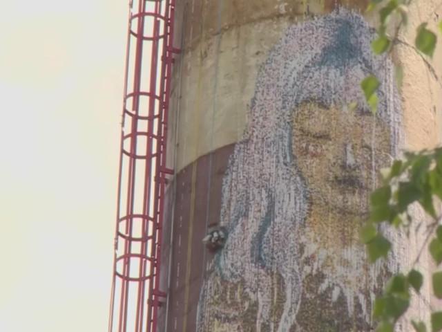 Graffiti-Roboter: Street Art mit Cliffhanger