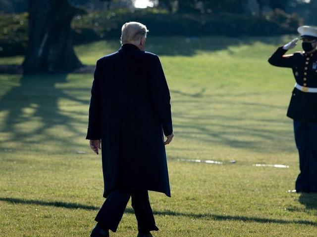 Fallen gelassen: Plant Trump eine private Abschiedszeremonie?