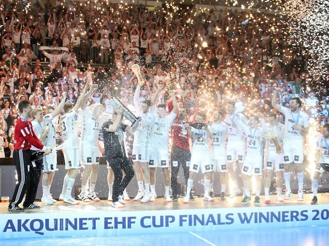 Deutsches Finale im EHF: Kiel stößt Berlin vom Europa-Thron