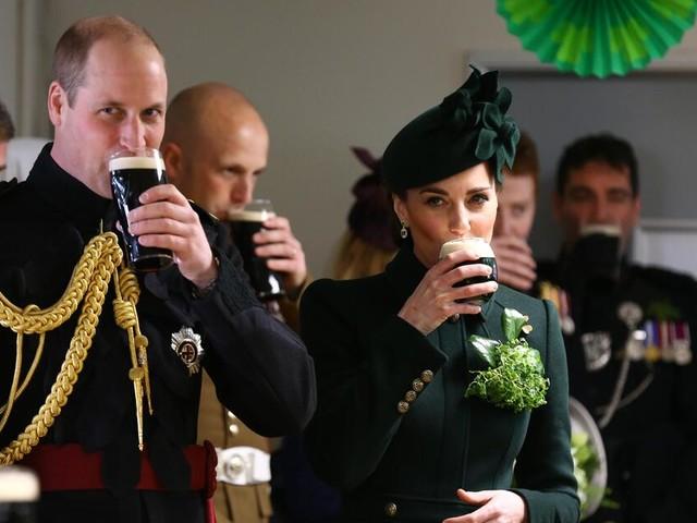 So feierten Prinz William und Herzogin Kate den St. Patrick's Day
