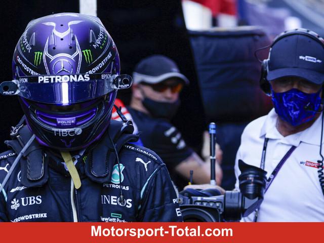 Wer letzte Nacht am schlechtesten geschlafen hat: Lewis Hamilton