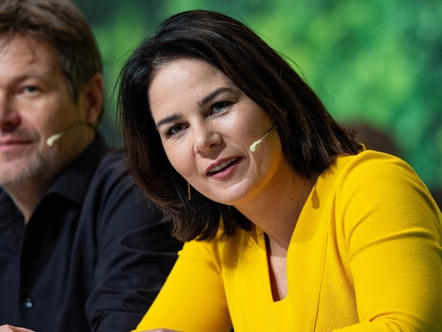 Grünen-Spitze: Habeck und Baerbock wiedergewählt