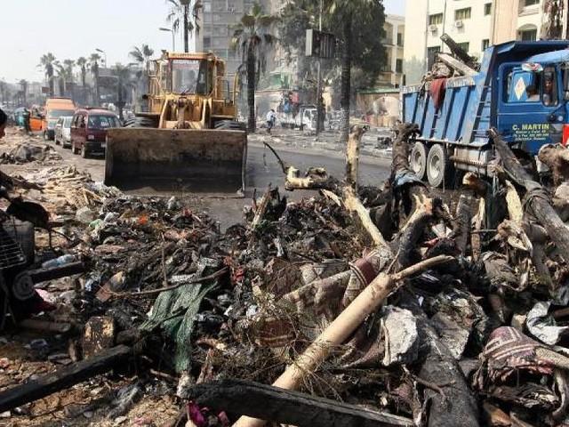 In der Wüstensiedlung Bahariya - Zahlreiche Tote bei schweren Gefechten mit Islamisten in Ägypten