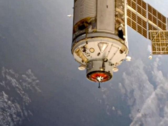 Raumfahrt: Neues Labor an Raumstation ISS angekommen