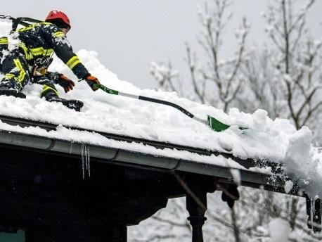 Schneefall und Tauwetter in Bayerns Katastrophengebieten