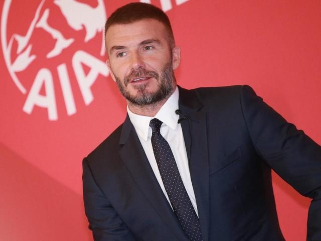 David Beckham war beim Friseur