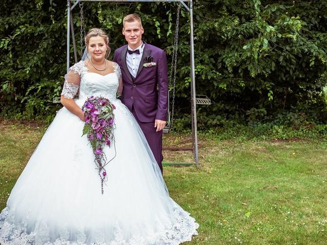 Nach Hochzeit: Sarafina und Peter danken ihren Fans