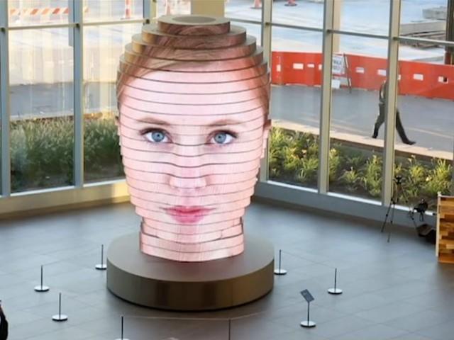 """As We Are"" Interaktive Skulptur nimmt das Aussehen des Betrachters an"