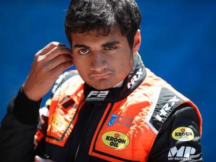 Formel 2: Verrückter Inder Neun Strafpunkte in einem Rennen!