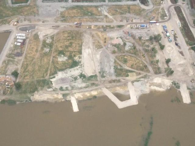 Neue Luftbilder zeigen Ausmaß der Baustelle am Neusiedler See