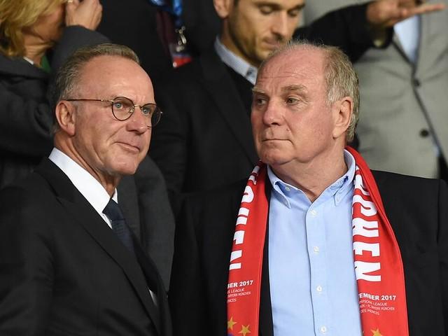 FC Bayern München: Uli Hoeneß und Karl-Heinz Rummenigge ziehen nicht am selben Strang