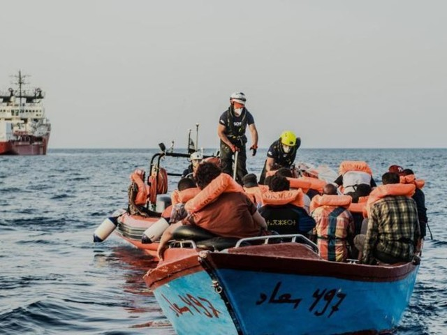 Dutzende Migranten bei Einsätzen im Mittelmeer geborgen