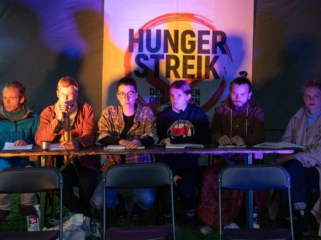 Klima-Hungerstreik: Durststreik für Samstag angekündigt - Ultimatum an Scholz