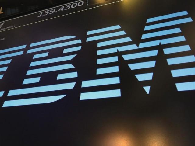 Gewinneinbruch und Umsatzrückgang bei IBM