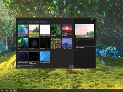 So einen Windows-10-Desktop haben Sie noch nicht gesehen: Mini-Freeware bringt Wallpaper 2.0