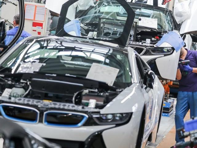 BMW stoppt wegen Chipmangels die Produktion