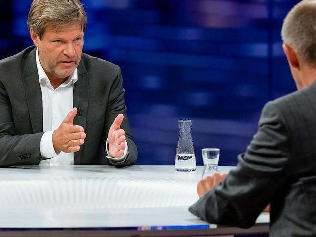 """""""Maybrit Illner"""" - Habeck platzt im Duell mit Merz der Kragen: """"Als wäre ich auf dem Unionsparteitag"""""""
