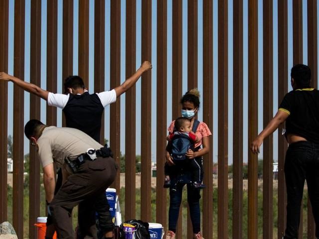 """Migranten am Rio Grande: """"Die wollen einfach ein besseres Leben"""""""