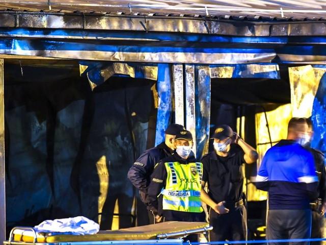 Mindestens zehn Tote bei Brand in einem Covid-Krankenhaus