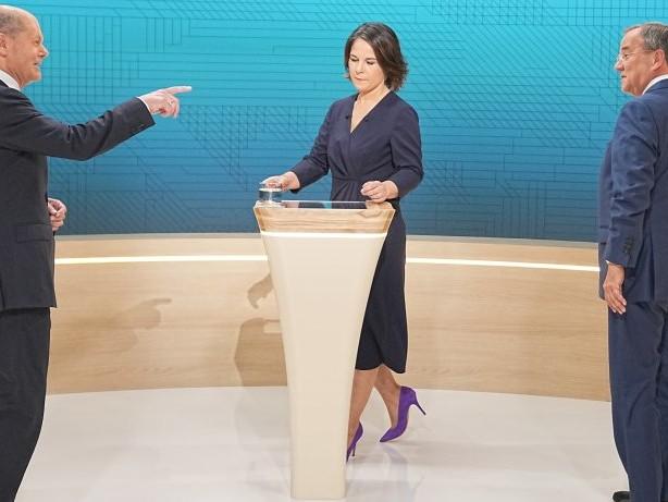 Bundestagswahl 2021: Triell: Die Show von ProSieben & Sat.1 live im TV und Stream