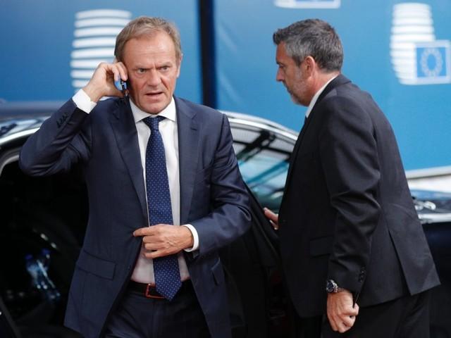 """EU besteht auf Backstop-Klausel, Ratschef Tusk lässtJohnson abblitzen: """"Wer den Backstop ablehnt, unterstützt die Errichtung einer Grenze"""""""