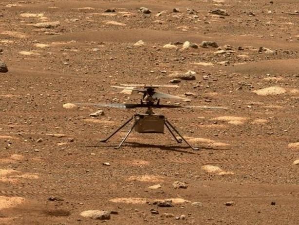 """Ingenuity"": Mars-Hubschrauber landet an anderer Stelle"