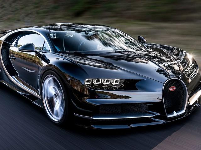 Bugatti Chiron auf dem Genfer Salon 2016 - Tacho geht bis 500 km/h! Extrem-Bugatti mit 1500 PS und Hammer-Preis