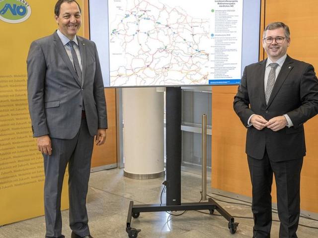 440 Millionen Euro für 40 Straßenprojekte im Waldviertel