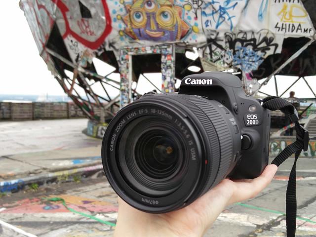 Kommentar zu Berlin für einen Tag – Auf Entdeckungstour auf dem Teufelsberg mit der Canon EOS 200D von nike