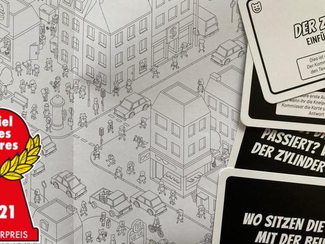 """Spiel des Jahres 2021: """"Micro Macro Crime City"""" zum Sieger gekürt"""