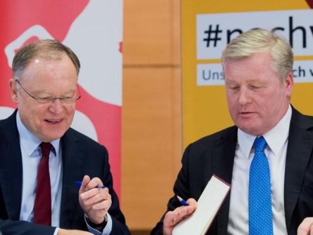 Große Koalition in Hannover: Ministerpräsident Weil wiedergewählt