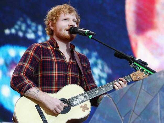 Er ist der König der deutschen Charts: Ed Sheeran